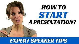 How to start a presentation