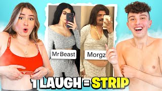 1 LAUGH = REMOVE 1 CLOTHING w/GIRLFRIEND! - Challenge