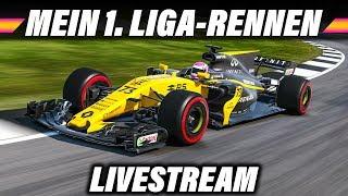 F1 2017 Ligarennen Livestream Deutsch - Silverstone GP (Rapid Racers League) Gameplay German