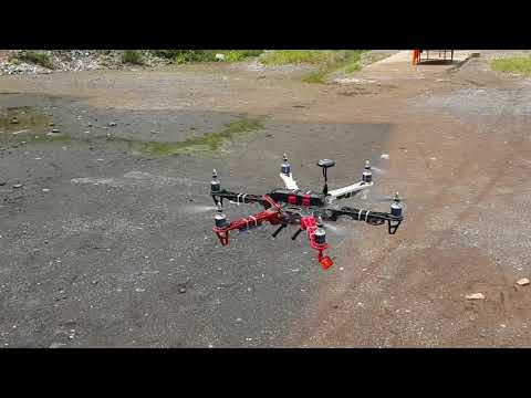 f550-hexacopter-dji-naza-m-lite-upgrade-to-naza-v2-maiden-flight