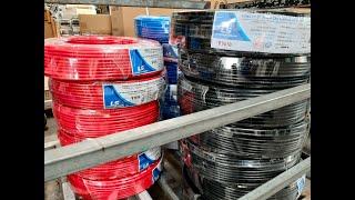 Giá Dây Cáp Điện Dân Dụng Cu/PVC V 1x10mm2 0.6/1kV LS VINA
