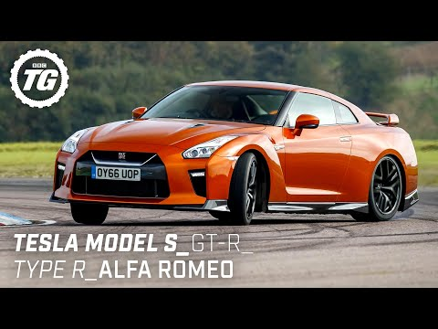 Chris Harris Drives… Best of Practical Performance: Tesla Model S, Nissan GT-R | Top Gear