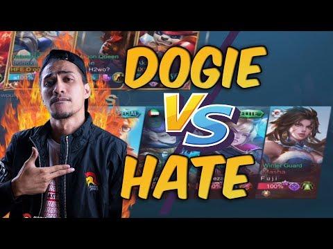 DOGIE VS HATE - SINO PINAKAMALAKAS MAG MID?