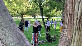 Atelier découverte Qi Gong au jardin des plantes
