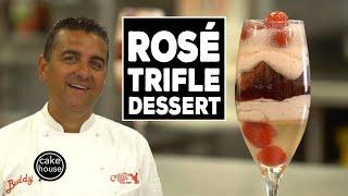 Rosé Trifle Dessert, Cake Boss Style!   Cool Cakes 05