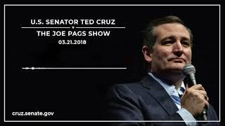 Sen. Cruz on The Joe Pags Show - March 21, 2018