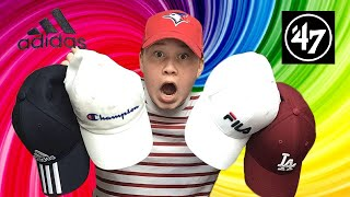 HAT COLLECTION REVIEW!!! Adidas, Nike, Fila, Champion, Calvin Klein AND MORE!!!
