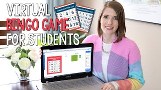 Virtual Bingo Game for Students | Create an Online Bingo Game in Under 5 Minutes!