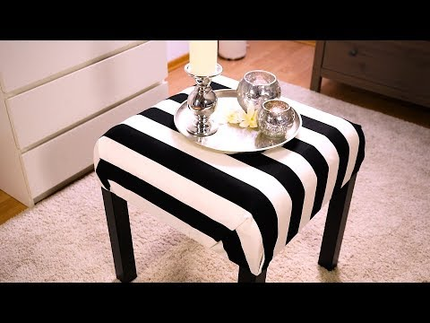"""Hocker selber bauen - Aus IKEA Tisch """"Lack"""""""