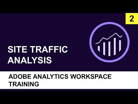 Adobe Analytics Workspace Training (2018) | Site Traffic Analysis ...