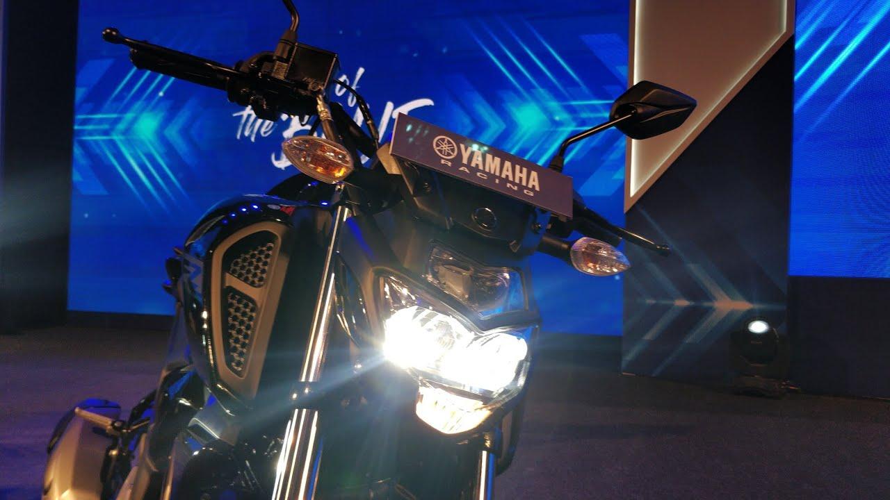 Motoroctane Youtube Video - 2019 Yamaha FZS V3 ABS | Hindi Walkaround | MotorOctane