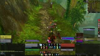 Classic WoW - Unfortunate timing to stroll for a flight path