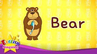 Words dễ dàng 2 (Animal Song) - Học từ vựng tiếng Anh cho trẻ em