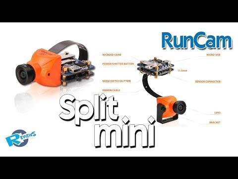 Split mini - RAW grass race track footage - from BangGood