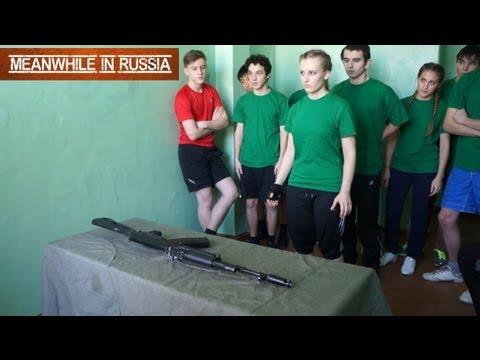 Cuộc thi Tháo lắp AK47 tại 1 trường học tại NGA