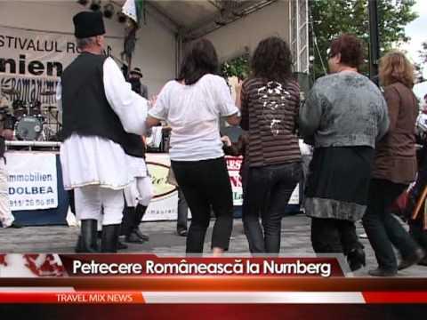 Petrecere românească la Nurnberg, Germania – VIDEO