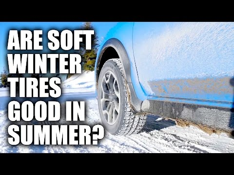 Why You Shouldn't Run Winter Tires All Year – With Proof!