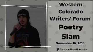 Western Colorado Writers' Forum Poetry Slam