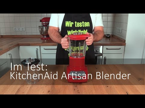Der KitchenAid 5KSB5553 Artisan Blender im Test