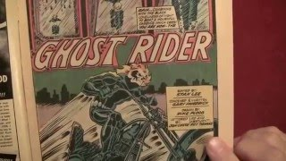 Reading Comics: First Appearance/Origin of Ghost Rider, Marvel Spotlight #5, 1972 [ASMR, Male]