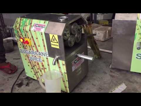 4 Roller Sugarcane Juice Machine