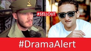 Casey Neistat Sells Out over PewDiePie! #DramaAlert  Shay Carl, CNN , Scare PewDiePie