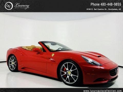 Pre-Owned 2012 Ferrari California 2+2 Convertible