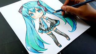 How To Color ANIME Using COLORED Pencils ONLY (Fully Explained For Beginners) Part 1