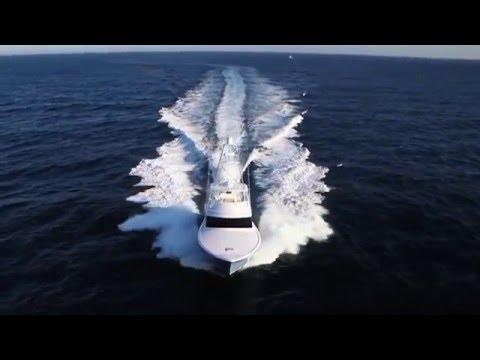 Hatteras GT70 video