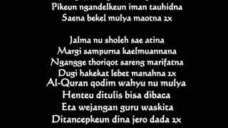 Kyai Maman Syair Waton Gus Dur Versi Sunda