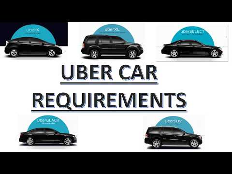 UBER Car Requirements - What Are The UBER Car Requirements?
