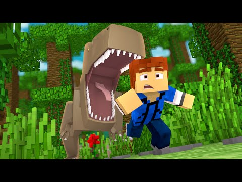 "Minecraft Jurassic World - Jurassic Park - RUN!!! #9 - ""Jurassic Craft Roleplay"