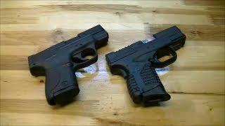 EDC Пистолеты: XDs vs Smith & Wesson Shield