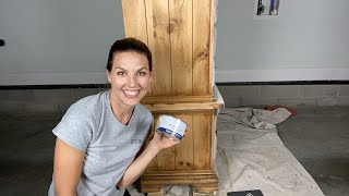 LIVE Creating A Driftwood Look With Gel Stain
