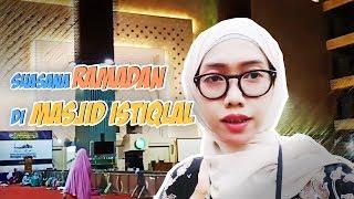 Intip Suasana Ramadan di Masjid Istiqlal Yuk!