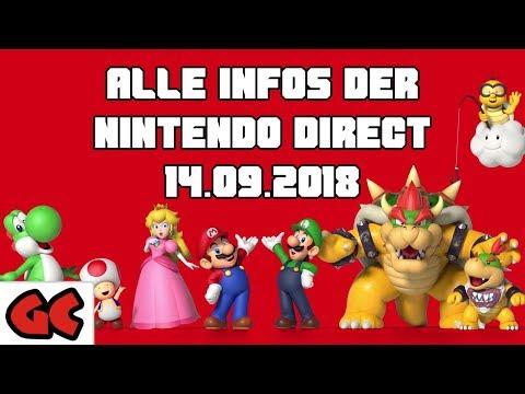 Die wichtigsten Infos aus der Nintendo Direct (14.09.2018) (видео)