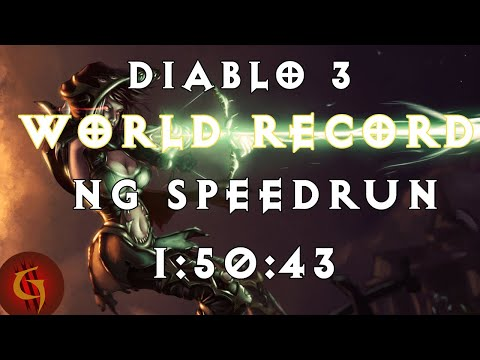 Sprinter Conquest Full Campaign in 1 hour Diablo 3 Reaper of Souls
