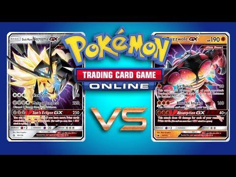 Dusk Mane Necrozma GX / Garbodor VS Buzzwole GX / Garbodor – Pokemon TCG Online Gameplay