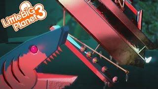 THE EVIL SHARKS ARE AFTER SACKBOY!!! | LittleBIGPlanet 3 Gameplay (Playstation 4)