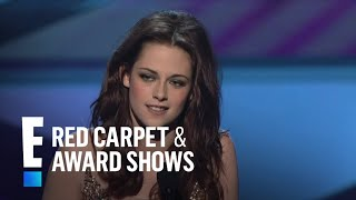The People's Choice For Favorite Movie Actress Is Kristen Stewart | E! People's Choice Awards
