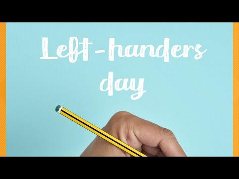 Left Handers Day! Here are some fun facts about southpaws