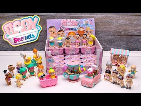 BABY SECRETS Puppen Unboxing! Spielen mit kleinen Babys in süßen Outfits