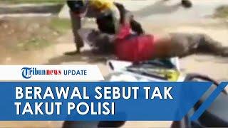 Kronologi 2 Oknum Polisi Baku Hantam dengan ODGJ, Bermula Ucapan Mana Duit, Saya Tidak Takut Polisi