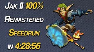 Jak II Platinum Trophy, 100% (Remastered) Speedrun in 4:28:56