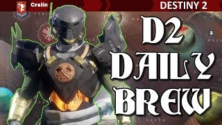 D2 Daily Brew / Complete 3 Challenges on Titan with Titan / Destiny 2