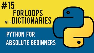 Python Programming Tutorial- 15 Using Dictionaries with For Loops