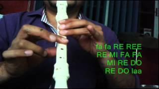 Tutorial LOS SONIDOS DEL SILENCIO flauta dulce Instituto Karla