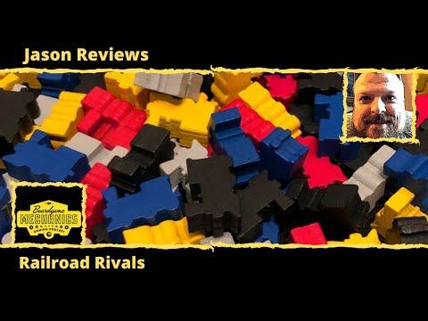 Jason's Board Game Diagnostics of Railroad Rivals