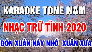 karaoke-nhac-song-bolero-tru-tinh-lien-khuc-tone-nam-don-xuan-nay-nho-xuan-xua-trong-hieu