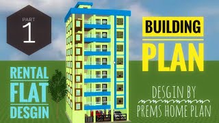 Building Planing For Rent|flat Design By Prems Home Plan